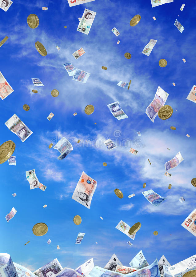 Download Raining Money stock image. Image of coins, save, finance - 11489265