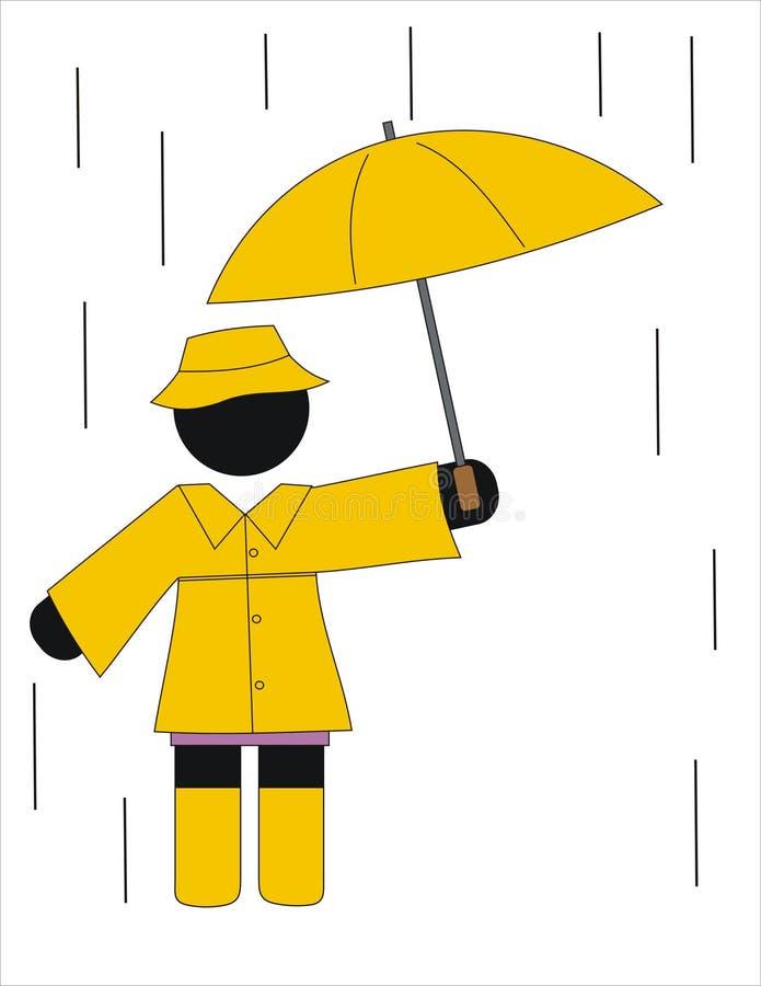 Rainning Day Royalty Free Stock Photos