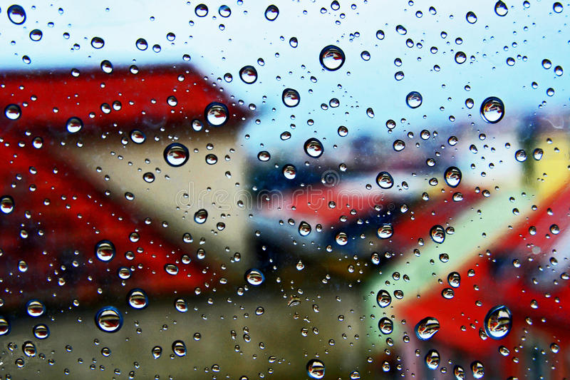 Rainny days royalty free stock photos