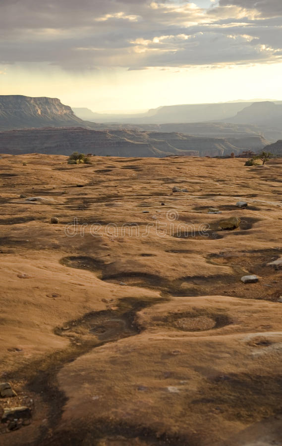 Download Rains Across the Canyon stock image. Image of forever - 19422671