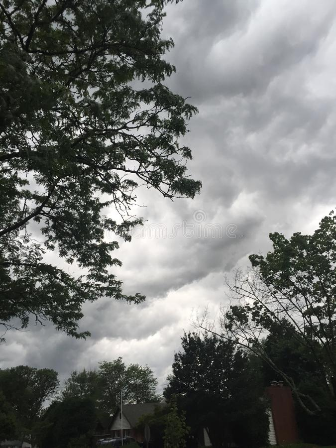 rainstorm photographie stock libre de droits