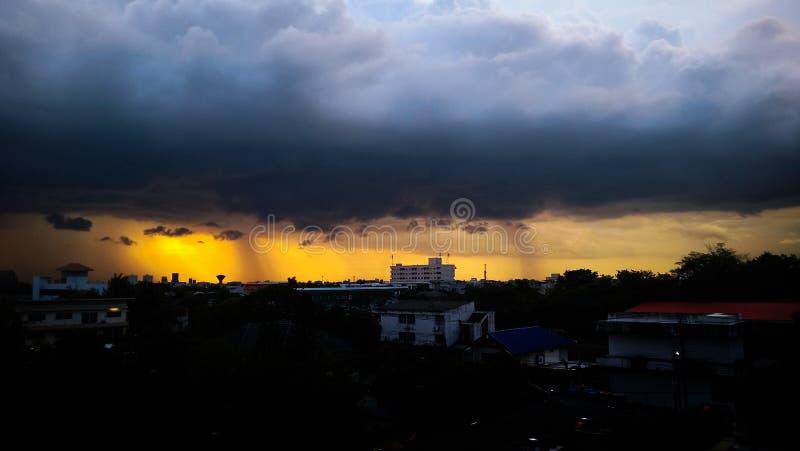 rainstorm fotografia stock