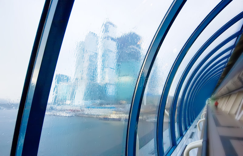 Download Rainy business stock image. Image of figure, river, skyscraper - 7125065