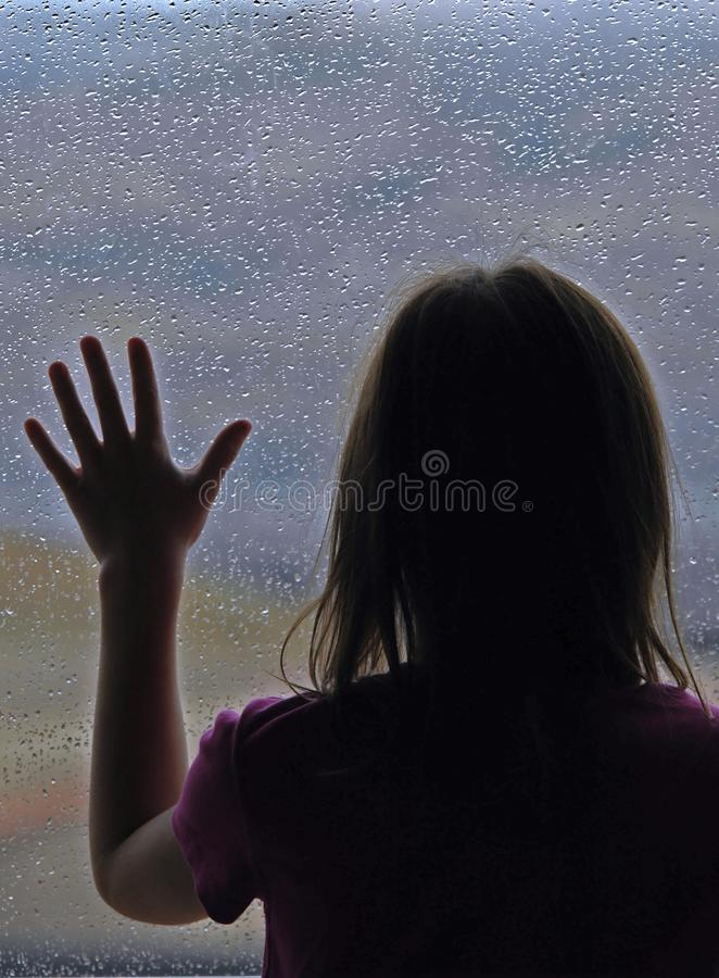 Rainy Day Disappointment royalty free stock image