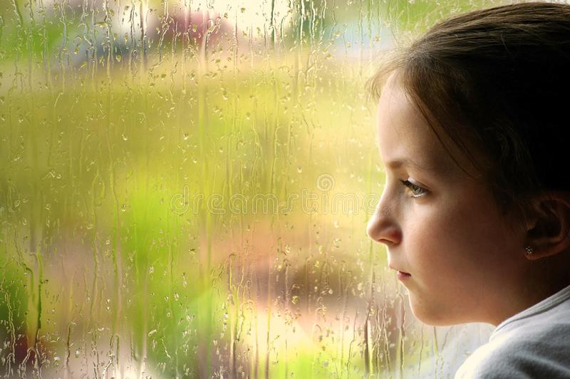 Rainy Day Disappointment royalty free stock photo