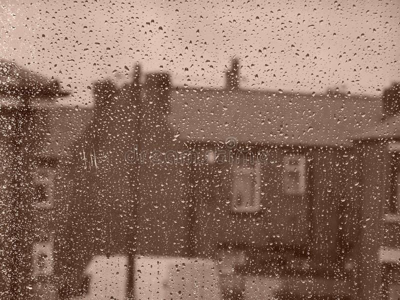 Rainy Day on the Street royalty free stock image