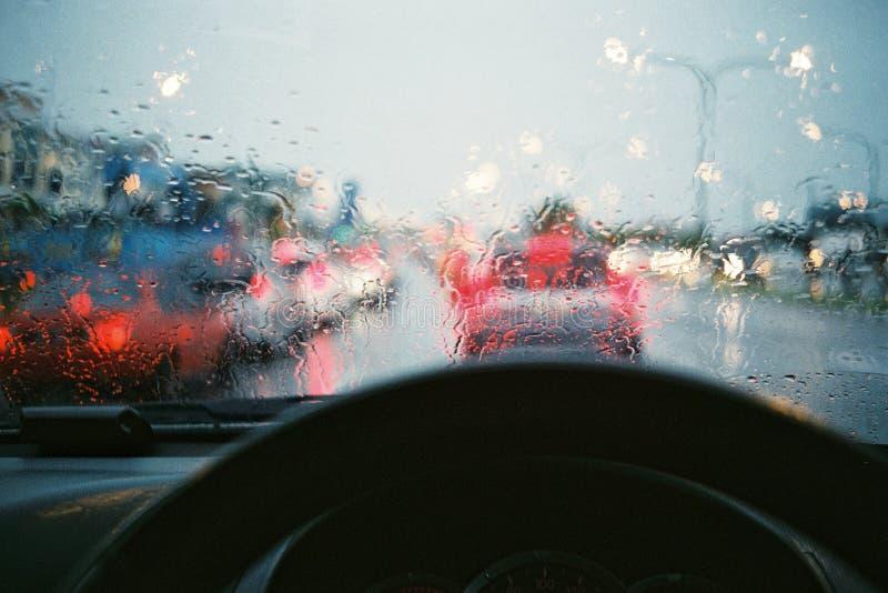 A rainy day royalty free stock photo