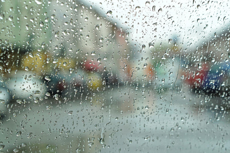 Rainy day weather royalty free stock images