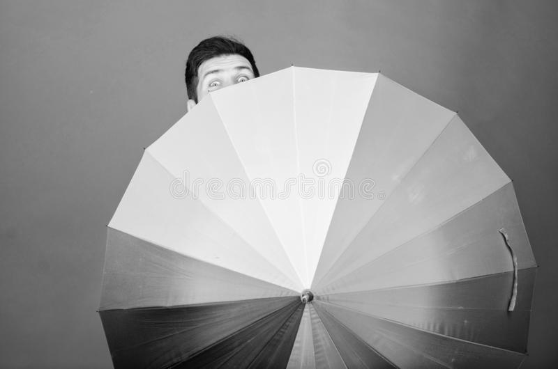 Rainy days can be tough to get through. Prepared for rainy day. Carefree and positive. Enjoy rainy day. Weather forecast royalty free stock photos