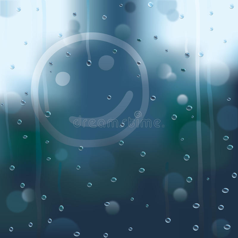Download Rainy smile stock vector. Illustration of smile, spot - 23857615