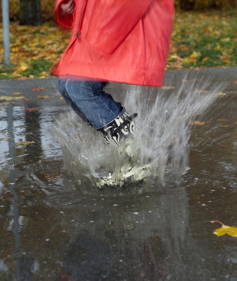 Download Rainy weather stock image. Image of people, non, image - 26765481