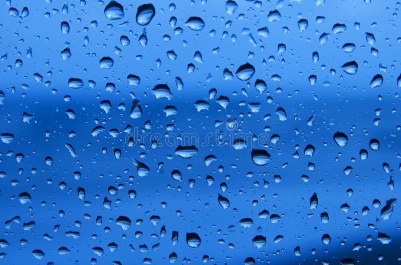 Rainy window royalty free stock photography