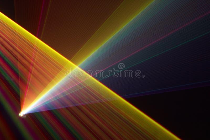 Raios laser da cor fotos de stock