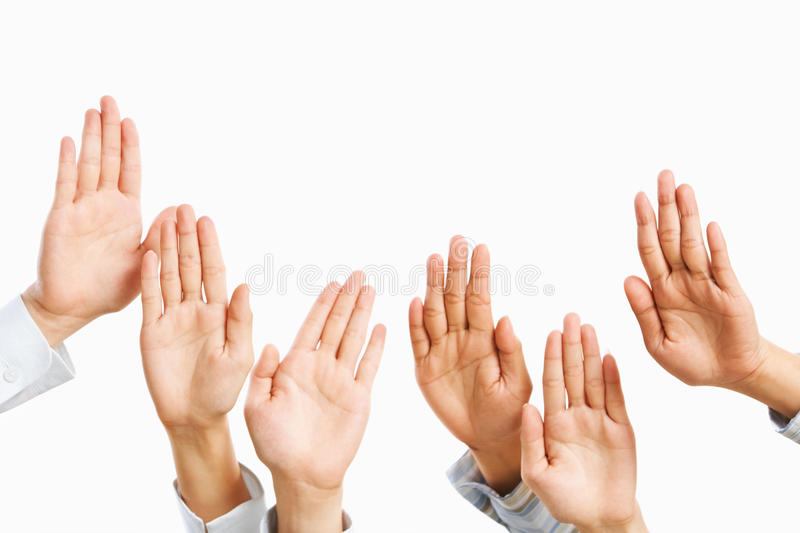 Download Raise Hand Stock Image - Image: 10941271