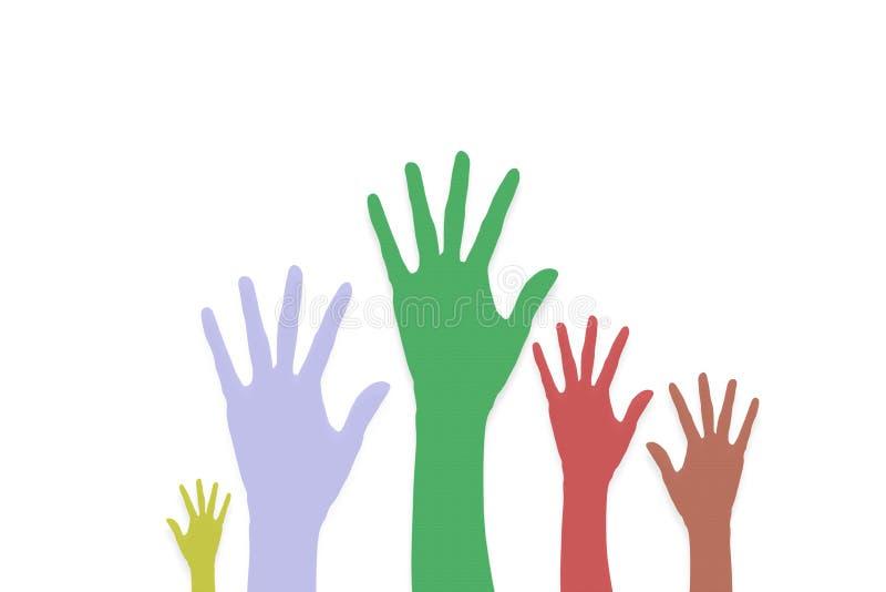 Raise Hands volunteering or voting