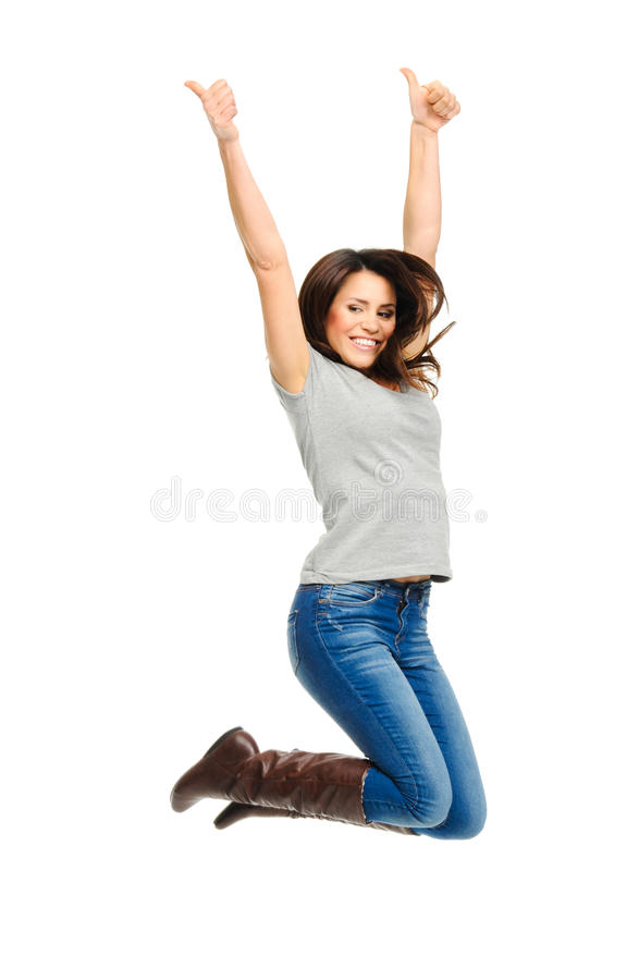 Download Raise your arms up stock image. Image of arms, smiling - 21793235