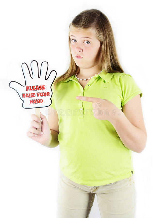 Download Raise Your Hand Royalty Free Stock Images - Image: 20914229