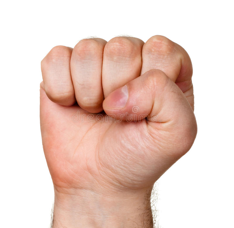 Download Raised fist stock image. Image of male, people, claw - 12748541