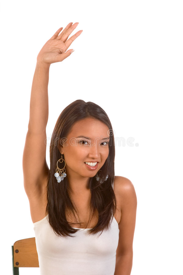 Raised Hand Royalty Free Stock Photos