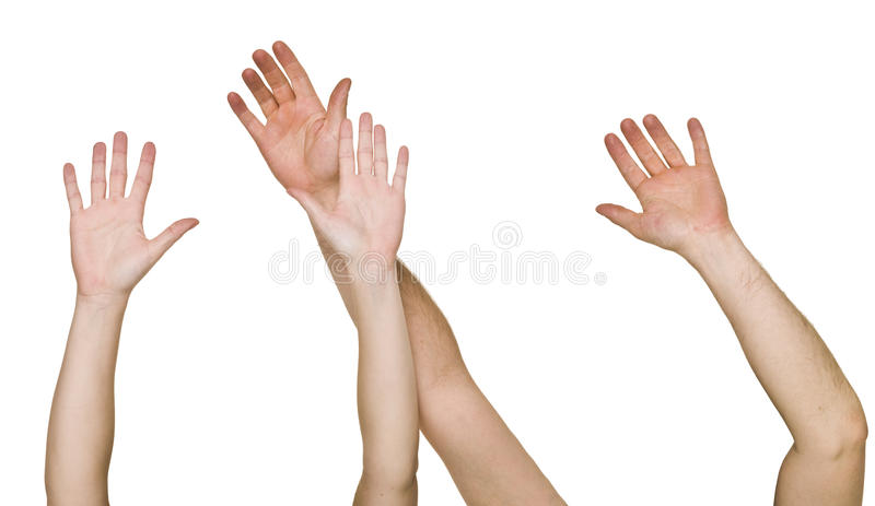 Download Raised Hands stock photo. Image of people, education - 14694892