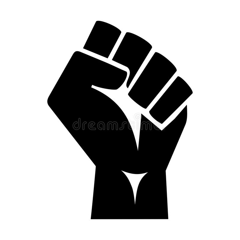 Free Raised Protester Fist Stock Image - 101922601