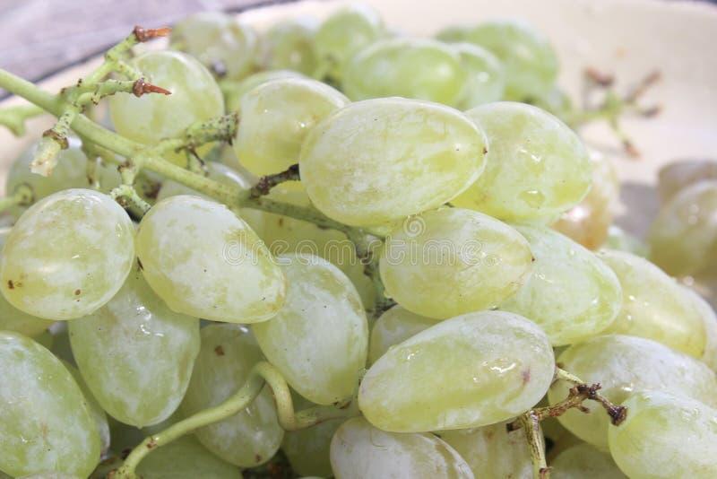 Raisin doux de grains pour le vin photo libre de droits
