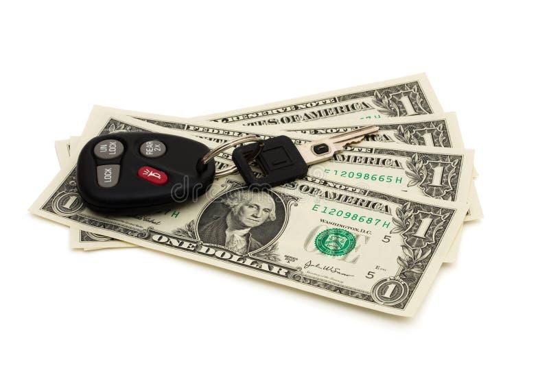 Raising Cost Of Gas Stock Image