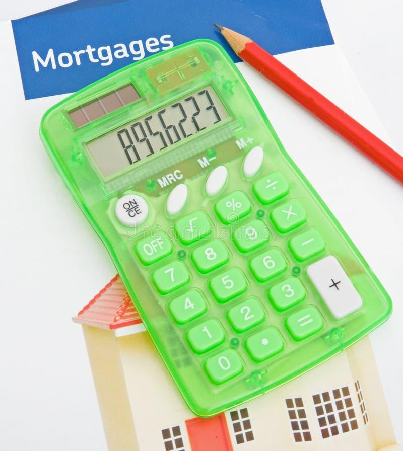Raising mortgage funds. stock image