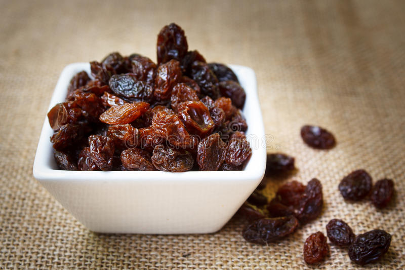 Raisins. royalty free stock image