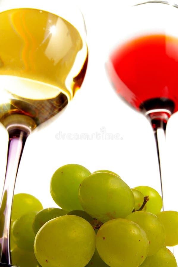 Raisins et vin photos libres de droits