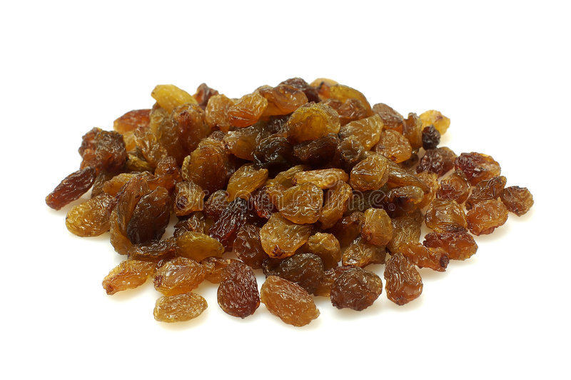Raisins secs photo stock