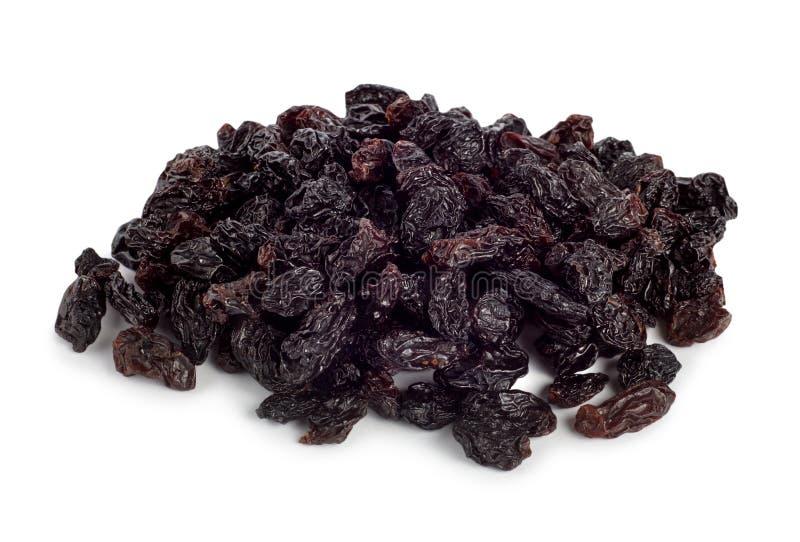 Raisins secs noirs photos stock