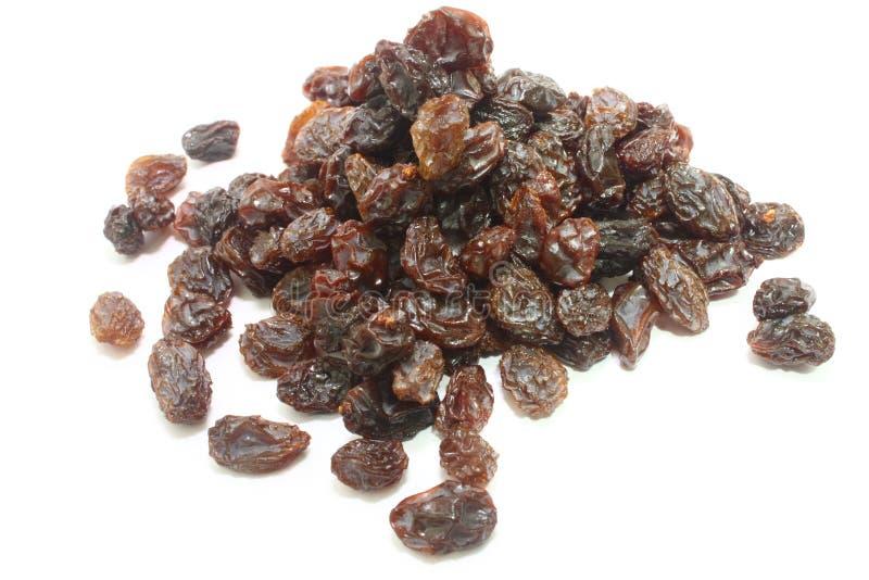 Raisins secs noirs image stock