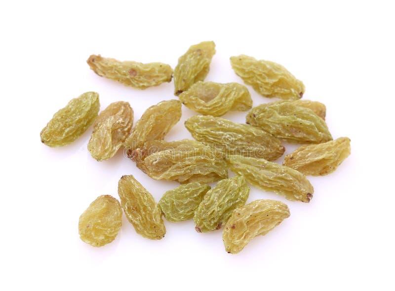 Raisins secs verts de sultanines images stock