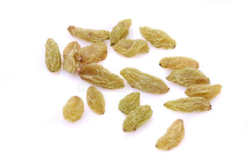 Raisins secs verts de sultanines photo stock