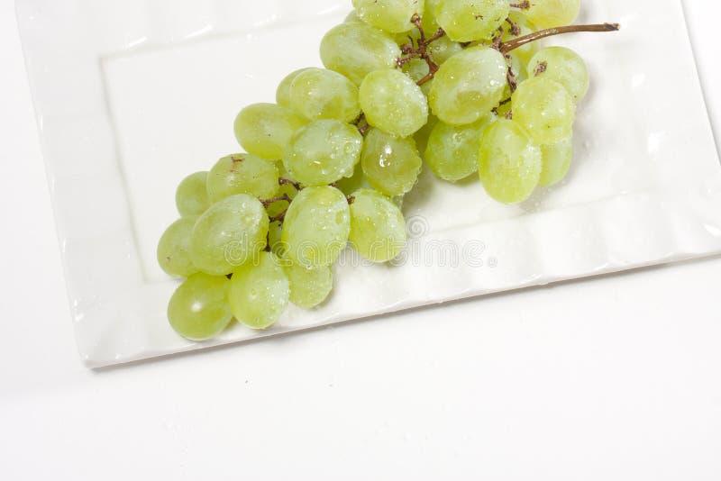 Raisins verts images libres de droits