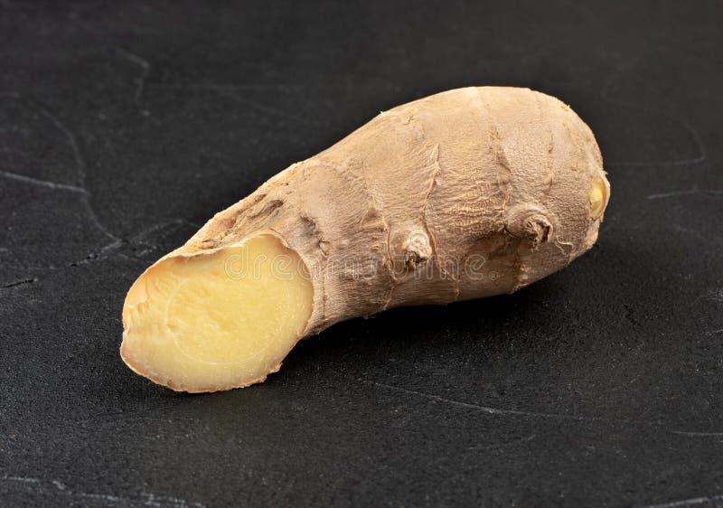 Raiz de ginger fresca imagens de stock
