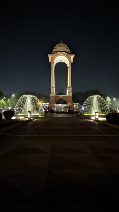 RAJ-BANA, NEW DELHI royaltyfri bild