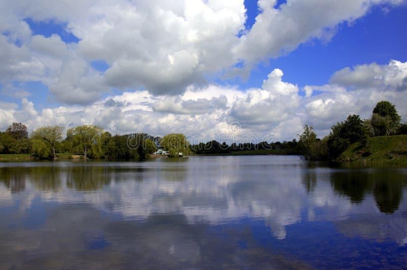 raj chmury zdjęcie royalty free