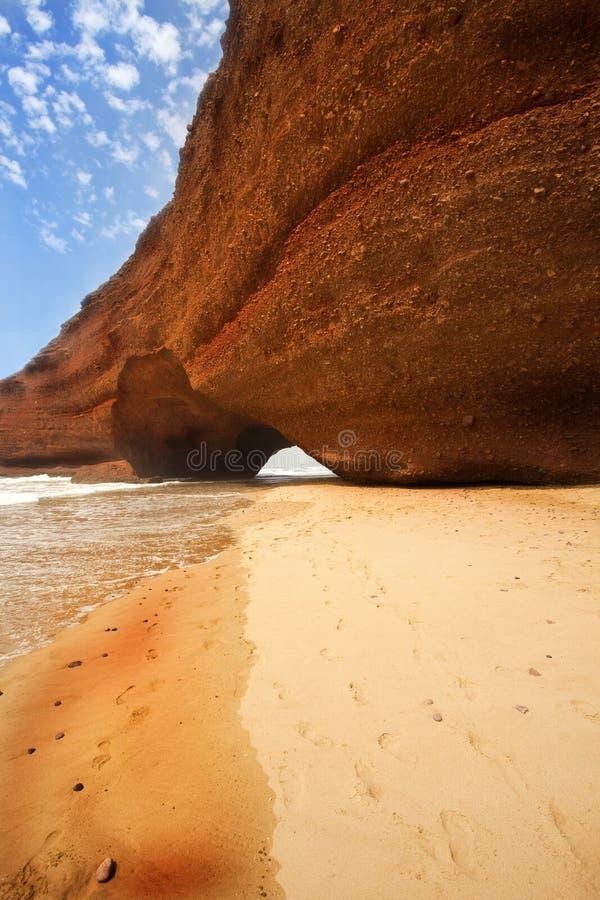 Raj ciepła Denna Plaża zdjęcie royalty free