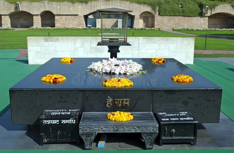 Download Raj Ghat editorial photo. Image of cremated, celebrity - 18705256