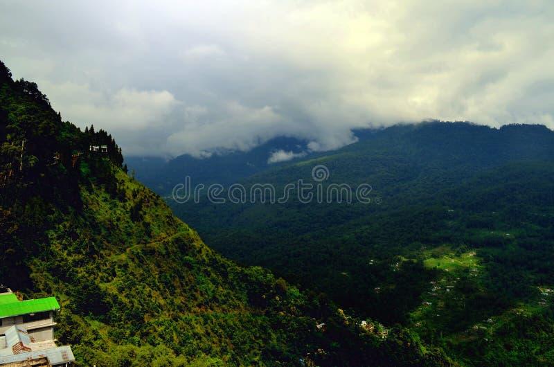 Raj Na ziemi Gangtok! obrazy royalty free
