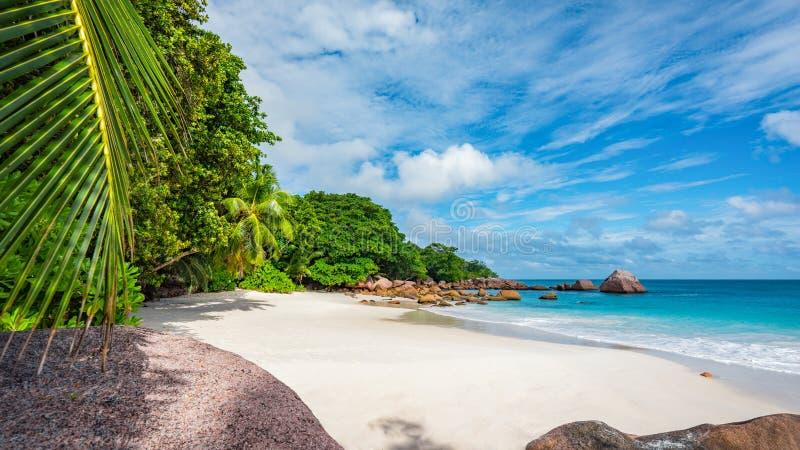 Raj plaża przy anse Lazio na Seychelles 56 fotografia stock