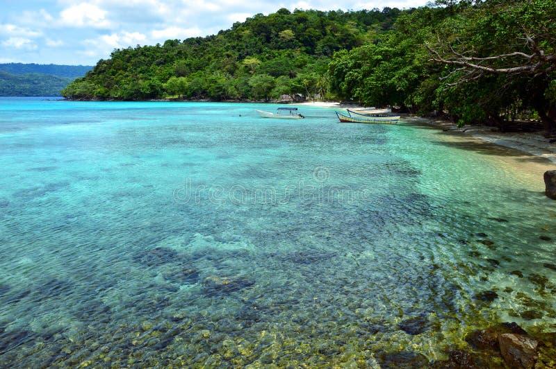 Raj plaża w Pulau Weh, Indonezja zdjęcia stock