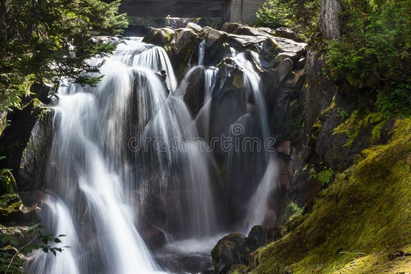 Raj rzeki siklawy zdjęcie royalty free