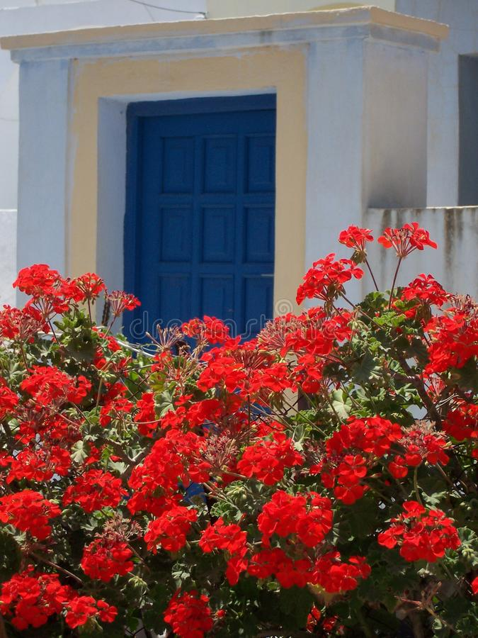 Raj Santorini Grecja obraz stock