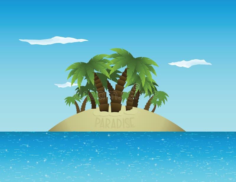 raj tropikalny ilustracja wektor
