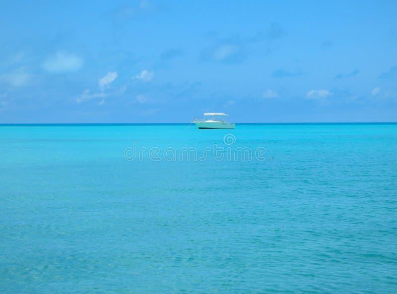 Raj w jasnym nawadnia Bermuda zdjęcia stock