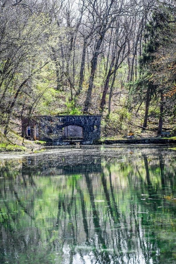 Raj wiosny natury park - Eagle, Wisconsin obraz royalty free
