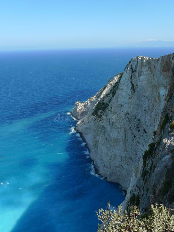Download Raj zatoka Zakynthos wyspa obraz stock. Obraz złożonej z sceniczny - 57672853